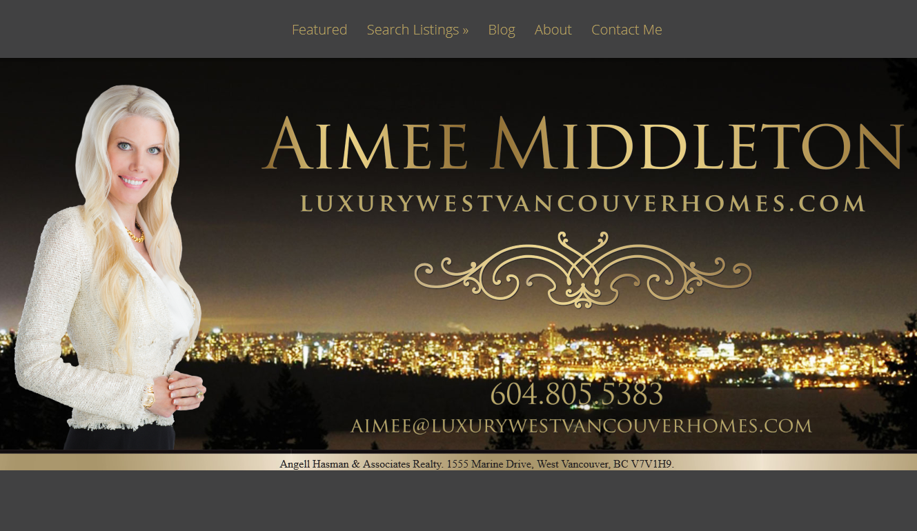 Customized web design service for Realtor